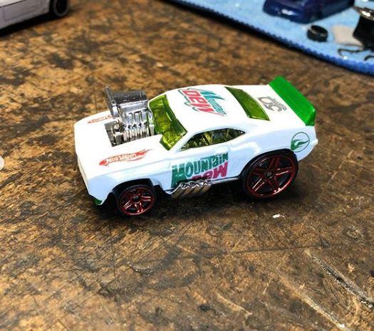 69  Camaro Mountian Dew Racer