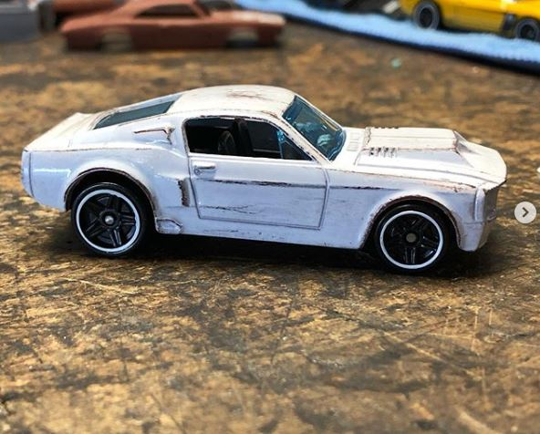 67 Shelby Mustang  'Barn Find'