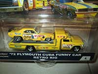 Retro Rig & 72 Plymouth Cuda Funny Car