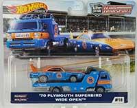 Wide Open (truck) & 70 Plymouth Superbird