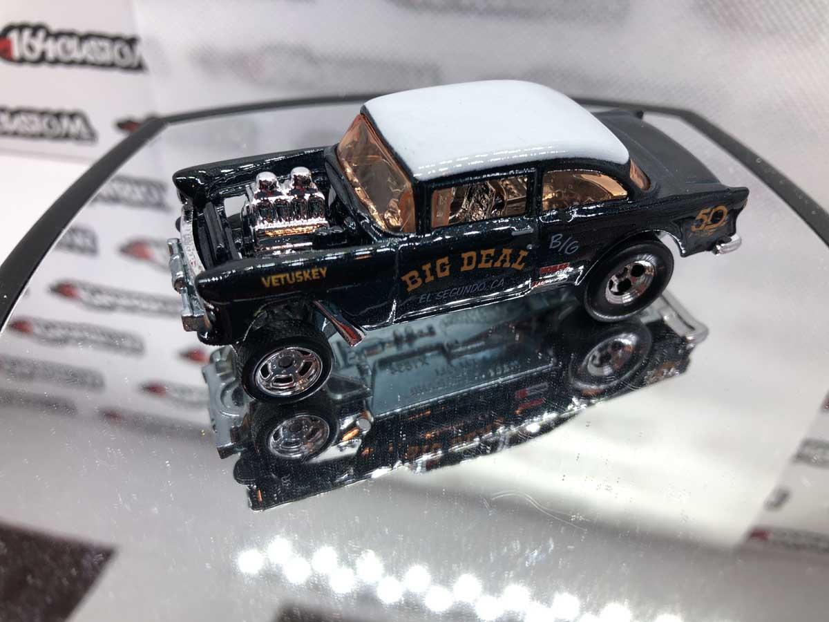 55 Chevy Bel Air Gasser Hot Wheels