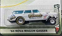 Blonde Bombshell Racing Gasser