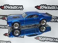 1968 Mercury Cougar - Blue