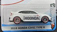 2018 Honda Civic Type R - [HOONDA]