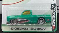 '83 Chevy Silverado - cutout wheel wells